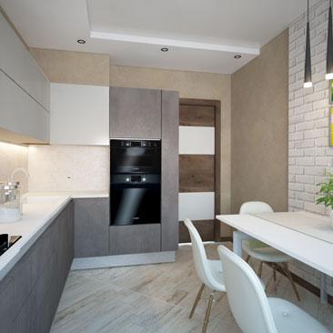 Проектирование кухни - дизайн и интерьер.