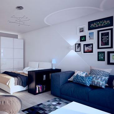 Подростковая комната - дизайн.