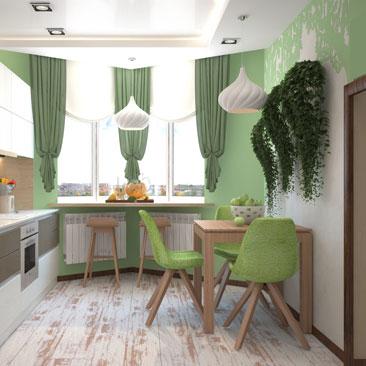 Квартира: разработка дизайн проекта интерьера.