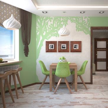 Квартира, дизайн, интерьер.