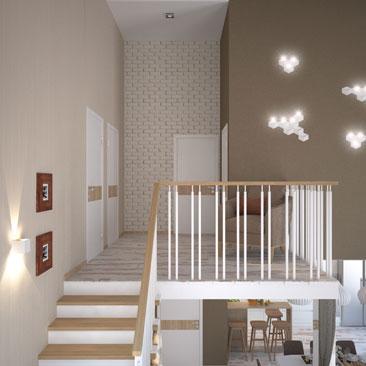 Дизайн и проектирование лестницы в частном доме.