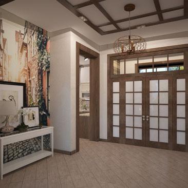 Прихожие: интерьеры, дизайн-проекты под ключ.
