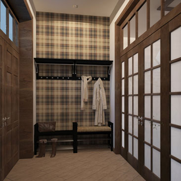 Прихожие и холлы: интерьеры, дизайн-проекты под ключ.