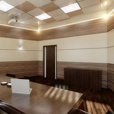 Дизайн общественных помещений - примеры работ.