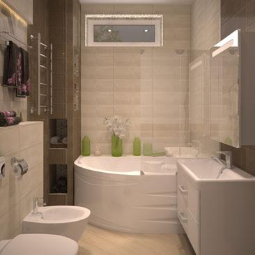 Дизайн-проекты квартир и коттеджей - портфолио.