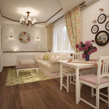 Дизайн-проекты гостиных и залов - портфолио.
