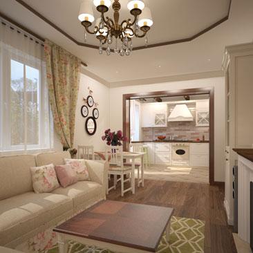 Дизайнерские проекты гостиных и залов - портфолио.