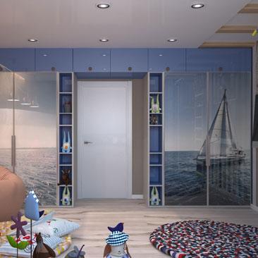 Необычные интерьеры детских комнат - портфолио.