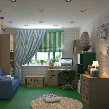 Лучшие интерьеры детских комнат - портфолио.