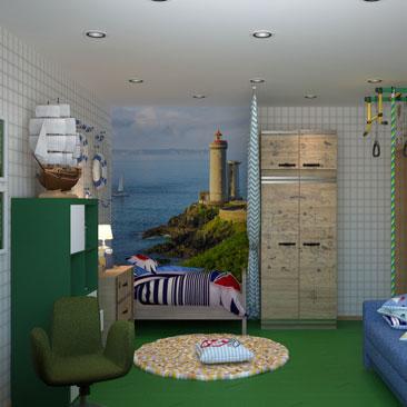 Красивые интерьеры детских комнат - портфолио.