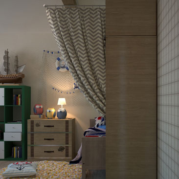 Дизайн детских комнат - фото галерея.
