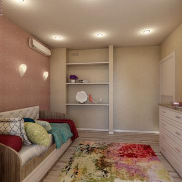 Дизайн, интерьер детских комнат - галерея проектов.