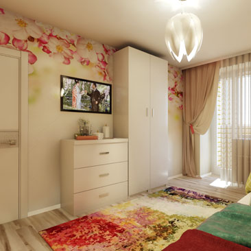 Интерьер-проекты детских комнат - портфолио.