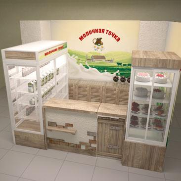 Дизайн-проект успешной торговой точки.