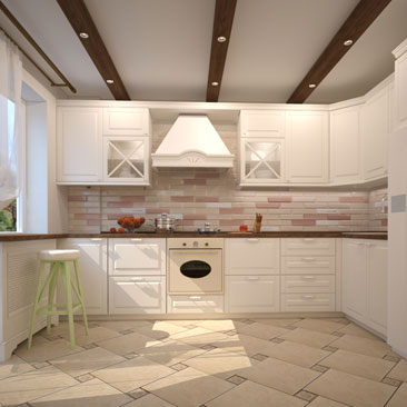 Дизайн интерьера кухни в классическом стиле - галерея дизайн-проектов.