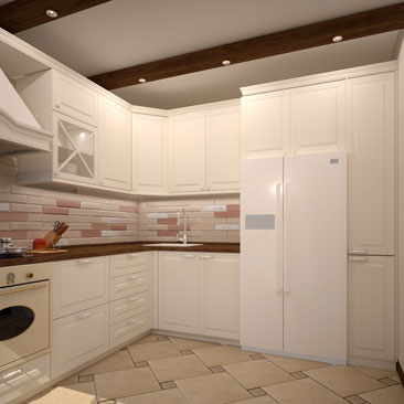 Классическая кухня - галерея проектов.