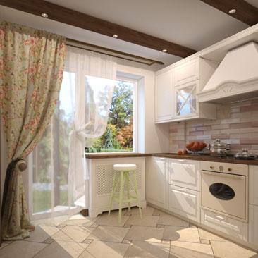 Прованс - дизайн кухни - галерея проектов.