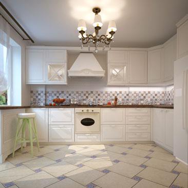 Винтажный дизайн кухни - галерея проектов.
