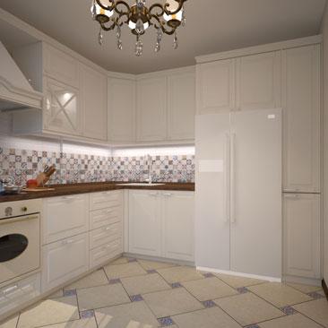Классический дизайн кухни - галерея проектов.