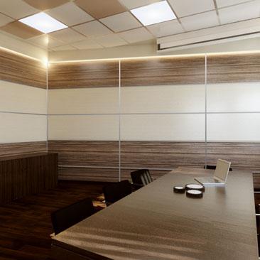 Дизайн-проекты коворкингов, опен спейсов, любых офисных помещений.