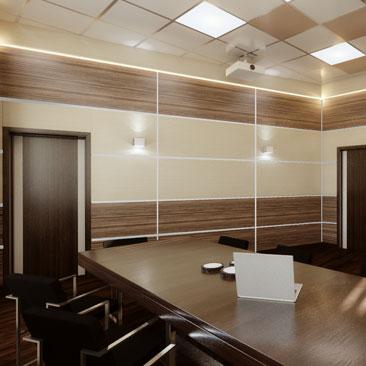 Интерьеры офисов, коворкинг-центров, опен спейсов. Портфолио.