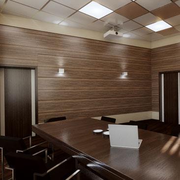Дизайн-проекты офисов, коворкинг-центров, опен спейсов. Портфолио.