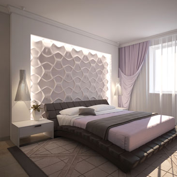 Современные интерьеры спален - фото готовых проектов.