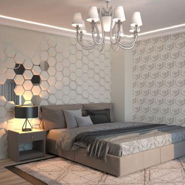 Дизайн, интерьеры спален - галерея, портфолио.