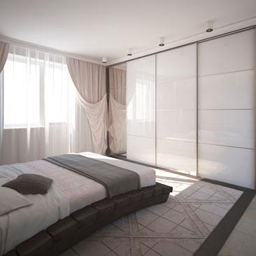 Красивые спальни - портфолио проектов.