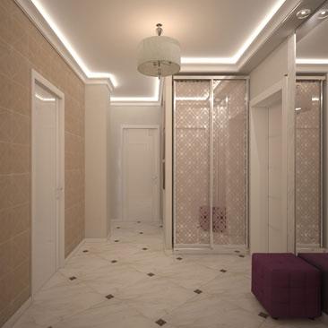 Уютные интерьеры прихожих и коридоров. Дизайн. Проекты.