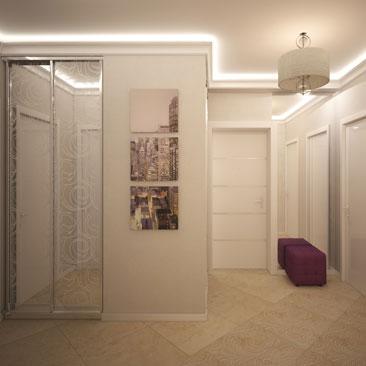 Интерьеры холлов и прихожих в коттеджах и в квартирах - галерея проектов.