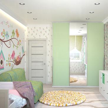 Новые проекты дизайна детских комнат