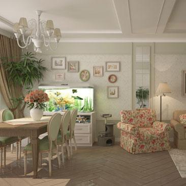 Новые дизайн-решения интерьеров коттеджей