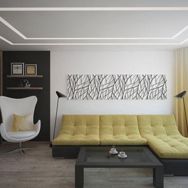 Дизайн интерьера гостиной 2017 (фото)