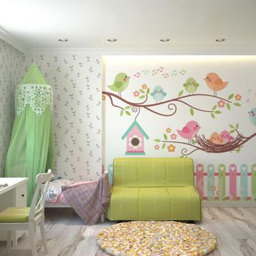 Роскошные детские комнаты - заказать проект.
