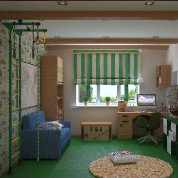 Интерьер детской комнаты. 1000 фото и идей.