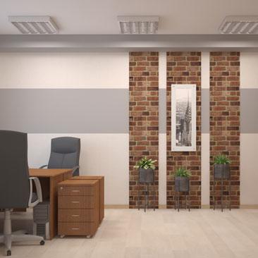Проект: кабинет бухгалтерии в офисе в Москве.
