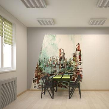Кухня в офисе (фото из проекта).