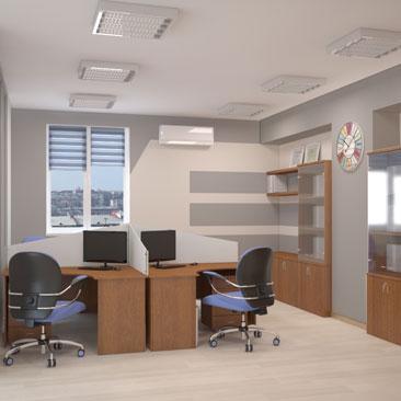Новые интерьеры офисов - фото 2017.