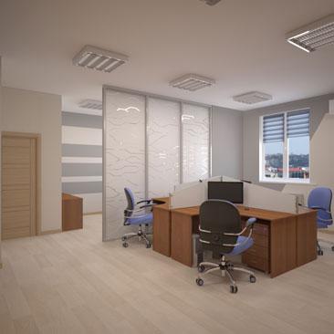 Дизайн офисов в Москве. Воронеже, Королёве.