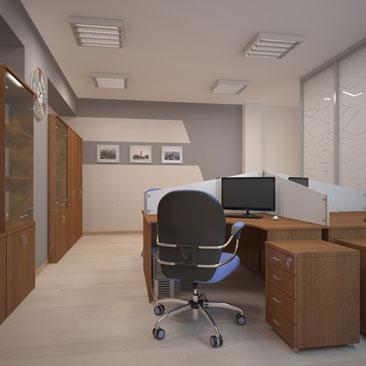 Дизайн и интерьер офиса в Москве.