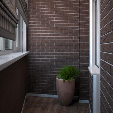 Маленькие - дизайн балкона и лоджии фото.