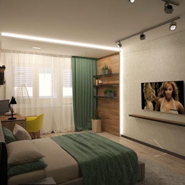 Дизайн интерьера спальни - фото 2017.