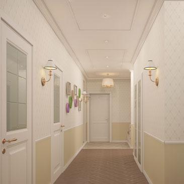 Дизайн интерьера квартиры в Москве, Пушкино, Фрязино.