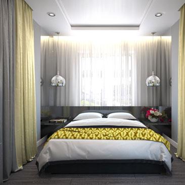 Свежие тенденции в дизайне интерьера спальных комнат - 2017