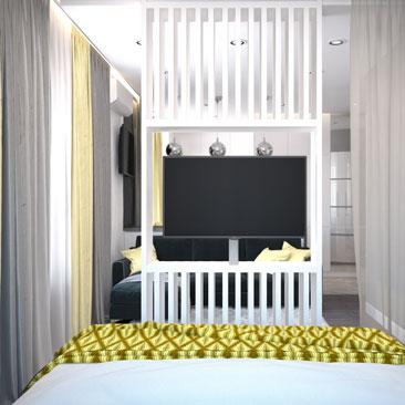 Свежие тенденции в дизайне интерьера спален 2017