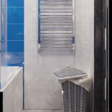 Простой дизайн ванной комнаты - Минимализм.