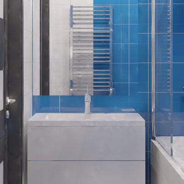 Дизайн-проекты ванных комнат. Современных решения 2017 года.