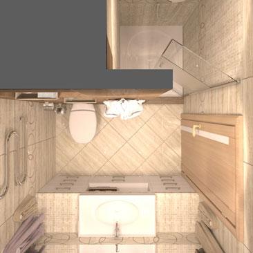 Актуальные проекты ванных комнат 2017 года.