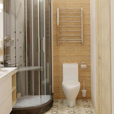 Новые тенденции ванных комнат 2017 года.
